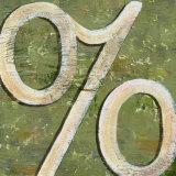 Percent Sign, Art Print