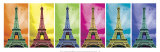 Pop Art Paris Psters por Anthony Matos