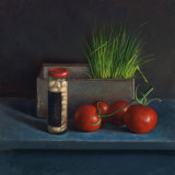 Still Life with Tomato Poster von Van Riswick 