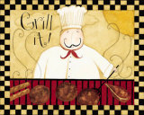 Grill It! Poster by Dan Dipaolo