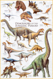 Dinosaurs - Jurassic Period - Poster