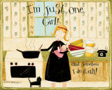 Just One Girl Prints by Dan Dipaolo
