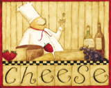 Cheese Poster by Dan Dipaolo