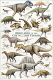 Dinosaurs - Cretaceous Period Posters