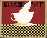 Kitchen Cafe Print by Dan Dipaolo