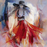 Summerdress I Posters by Willem Haenraets