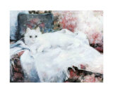 Soft as a Cat Art by Lise Auger