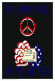Peace Card Poster by Marilu Windvand