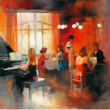 Rendezvous I Posters tekijn Willem Haenraets