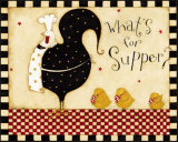 What's for Supper Posters af Dan Dipaolo