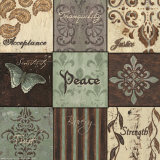 Peace Nine Patch Prints by Debbie DeWitt