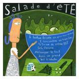 Salade d'Ete Print by Céline Malépart