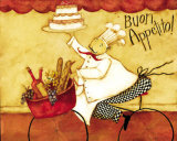 Buon Appetito Posters par Dan Dipaolo