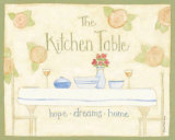 The Kitchen Table Prints by Dan Dipaolo