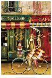 Girlfriends in Paris Posters par Jennifer Garant