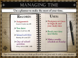 Managing Time Poster