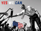 Barack Obama:  Yes We Can Posters