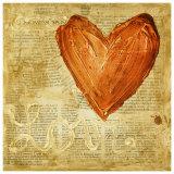Coeur Love Print by Roberta Ricchini