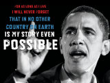 Barack Obama: My Story Posters