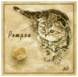 Pompon Prints by  Clauva