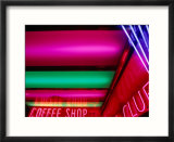 Neon Lights, Reno, Nevada, USA Affiches par Ray Laskowitz
