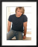 American Rock Star Jon Bon Jovi at His Home in New Jersey, New York, March 2004 Affiches