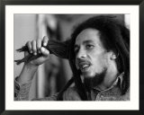 Bob Marley Jamaican Reggae Singer/Writer Talking Duing an Interview for the Daily Mirror Affiches