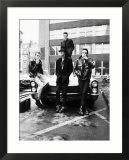 The Clash Pop Group British Punk Rock Band, 1980 Affiche