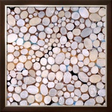 River Pebbles Prints by Isabel Lawrence