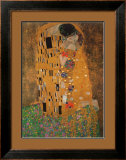 The Kiss, c.1907 Print by Gustav Klimt
