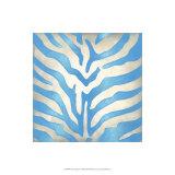Vibrant Zebra II Premium Giclee Print by Chariklia Zarris