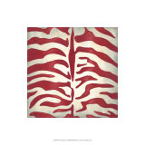 Vibrant Zebra I Limited Edition by Chariklia Zarris