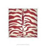 Vibrant Zebra I Premium Giclee Print by Chariklia Zarris