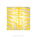 Vibrant Zebra IV Premium Giclee Print by Chariklia Zarris