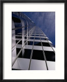 Low Angle View of a High Rise Building Print