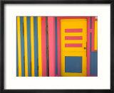 Colorful Doorway, New Providence Island, Bahamas, Caribbean Kunstdrucke von Walter Bibikow