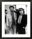 Elton John with George Michael of Wham Pop Group 1985, at Live Aid Concert Affiches