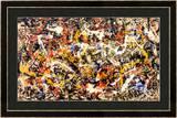 Convergence Art by Jackson Pollock