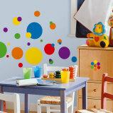 Plein de pois - couleurs franches Autocollant mural