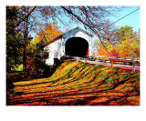 Kennedy Covered Bridge Photographic Print by Howard Kennedy