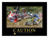 Caution Photographic Print by Harry Starr