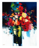 Bouquet Chantant Giclee Print by Max Laigneau