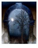 Blue Mystery Photographic Print by Lothar Boris Piltz