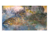 Brown Trout Rising Giclee Print by Gary Snyder