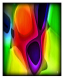 Bright Abstract Colors 11 Photographic Print by Kim Straus