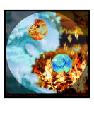 You Are Fire I Am The Ocean Photographic Print by olie cannoli griffard