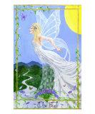Tarot 0: The Fool Giclee Print by M. Elaine Gladney