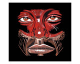 Taino Warrior 2 Giclee Print by John Aguilar Marrero Jr