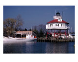 Solomons Museum Lighthouse Photographic Print by Hank Miller