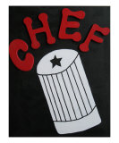 Chef Hat Giclee Print by Brenda Tuttle